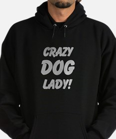 Crazy Dog Lady light design Hoodie