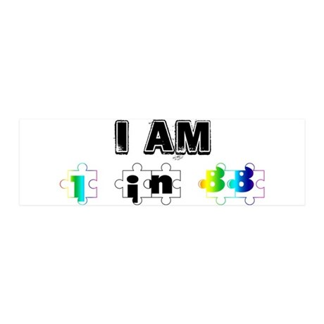 I am in in 88 36x11 Wall Decal