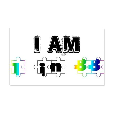 I am in in 88 20x12 Wall Decal