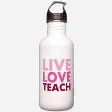 live love teach Water Bottle