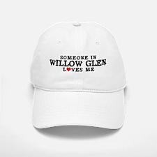 Willow Glen: Loves Me Baseball Baseball Cap