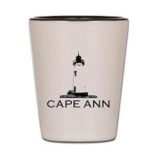 Cape Ann - Lighthouse Design. Shot Glass