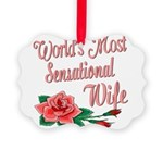 SensationalWife.png Picture Ornament