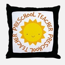 Preschool Teacher Gift Throw Pillow