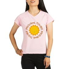 Preschool Teacher Gift Performance Dry T-Shirt