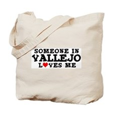 Vallejo: Loves Me Tote Bag
