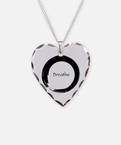 Enso with Breathe Necklace