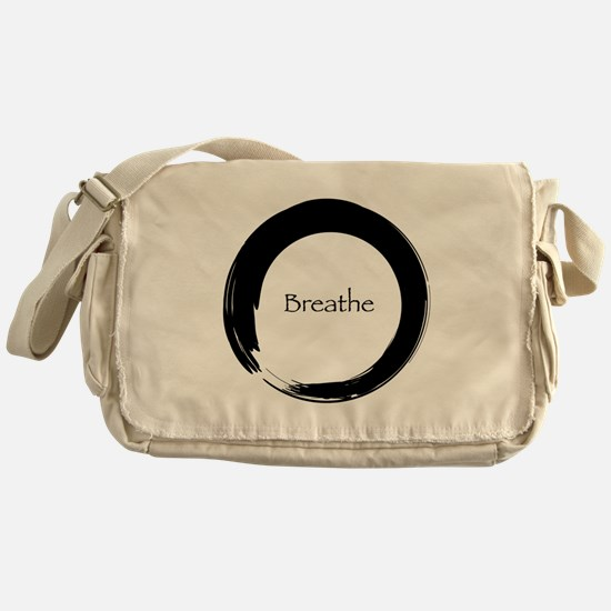 Enso with Breathe Messenger Bag