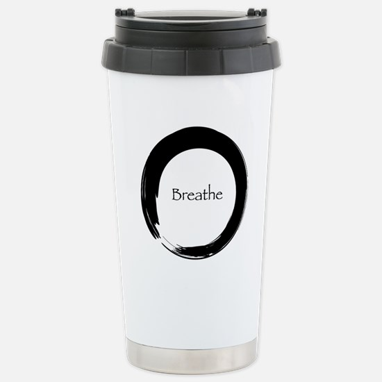 Enso with Breathe Stainless Steel Travel Mug