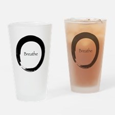 Enso with Breathe Drinking Glass