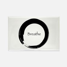 Enso with Breathe Rectangle Magnet (10 pack)