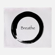 Enso with Breathe Throw Blanket