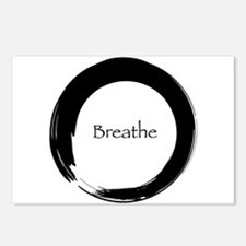 Enso with Breathe Postcards (Package of 8)