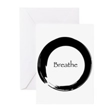 Enso with Breathe Greeting Cards (Pk of 10)