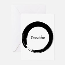 Enso with Breathe Greeting Cards (Pk of 20)