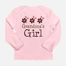 Grandma's Girl Daisies Long Sleeve Infant T-Shirt