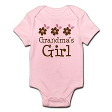 Grandma's Girl Daisies Onesie