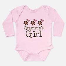 Grammy's Girl Daisies Onesie Romper Suit