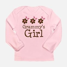 Grammy's Girl Daisies Long Sleeve Infant T-Shirt