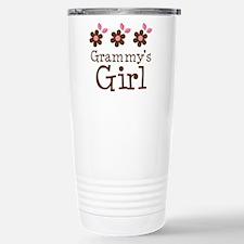 Grammy's Girl Daisies Stainless Steel Travel Mug