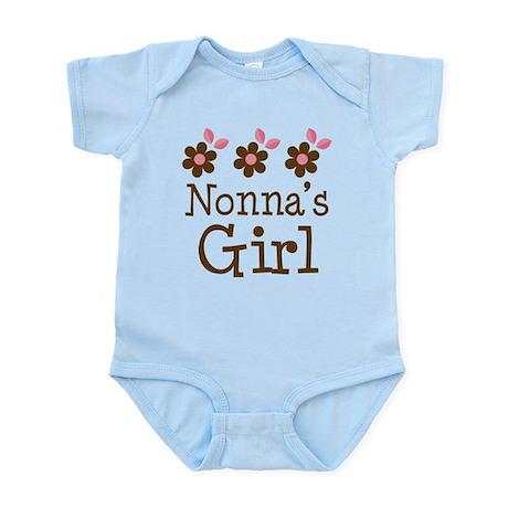 Nonna's Girl Daisies Infant Bodysuit