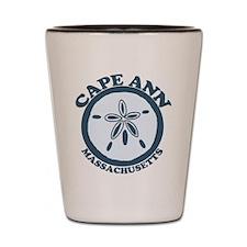 Cape Ann - Sand Dollar Design. Shot Glass