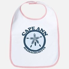 Cape Ann - Sand Dollar Design. Bib