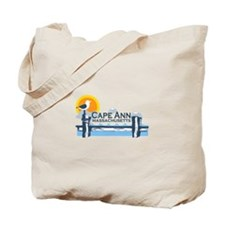 Cape Ann - Pier Design. Tote Bag