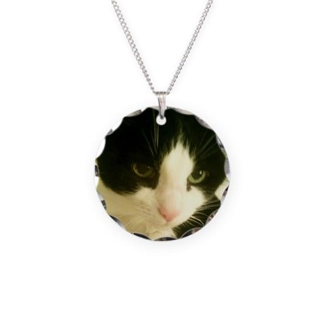 SonicMeow I Necklace Circle Charm