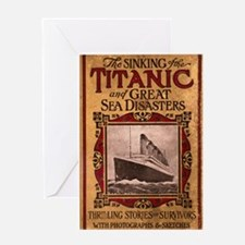 Sinking of the Titanic Greeting Card