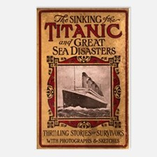 Sinking of the Titanic Postcards (Package of 8)