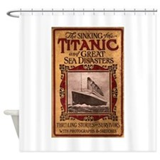 Sinking of the Titanic Shower Curtain