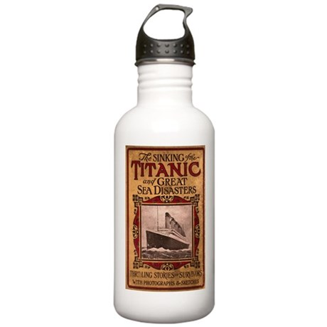 Sinking of the Titanic Stainless Water Bottle 1.0L