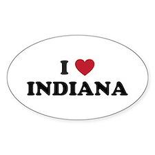Cute Indiana hoosiers Decal