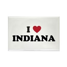 Cute Indiana hoosiers Rectangle Magnet