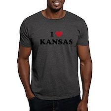 Unique Kansas jay hawks men T-Shirt