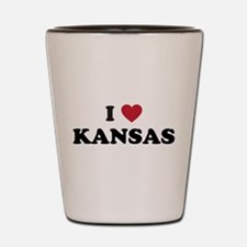 Unique Kansas jayhawks Shot Glass