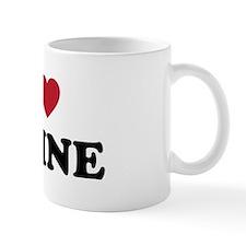 Cute Heart portland Mug