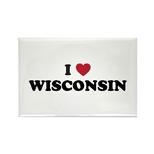 Wisconsin badgers Rectangle Magnet
