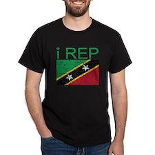 I Rep Saint Kitts T-Shirt
