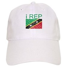 I Rep Saint Kitts Baseball Cap