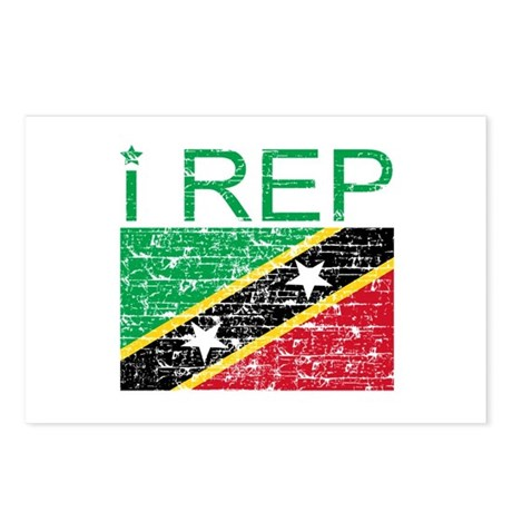 I Rep Saint Kitts Postcards (Package of 8)