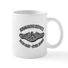 USN Submarine Service Dolphins Mug