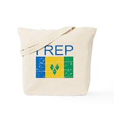 I Rep Saint Vincent Tote Bag