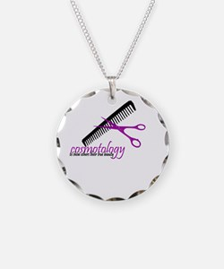 Cute Cosmetology Necklace
