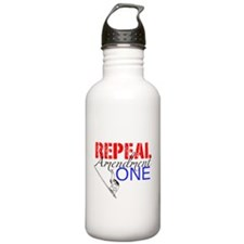 Repeal Amendment One- Light Background Water Bottle