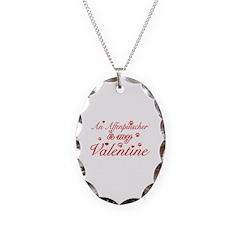 An Affenpinscher is my valentines Necklace