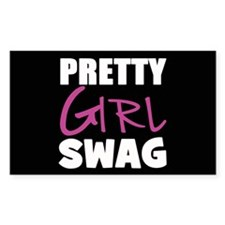 PRETTY GIRL SWAG Decal
