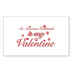 An American Foxhound is my valentines Decal