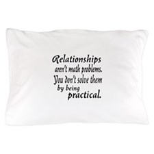 Castle Relationships Quote Pillow Case
